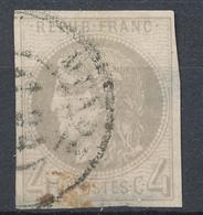 N°41 CACHET A DATE. - 1870 Bordeaux Printing
