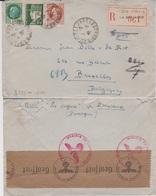 Lettre De Jean Bille à Eléonore De Mot - 1942 - Egyptologue Et Petite Fille D'Emile De Mot - Censure Militaire Allemand - Historical Documents