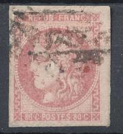 N°49 VARIETE FILET ET TACHE ROUGE - 1870 Bordeaux Printing