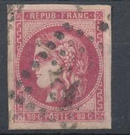 N°49 ROSE FONCE G.C. - 1870 Bordeaux Printing