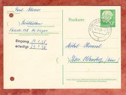 P 31 Heuss, Herdorf Nach Hess Oldendorf 1958 (48359) - BRD