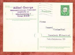 P 37 Heuss, Hamburg Nach Hess Oldendorf 1960 (48361) - BRD