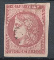 N°49 OBLITERATION LEGERE - 1870 Bordeaux Printing