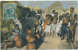 SOMALIA ITALIANA - Ragazze Che Fabbricano Vasi Di Terra - Poterie - Somalia