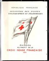 France Carnet Croix-Rouge 1955 Neuf ** MNH. Belle Qualité Sans Défaut. A Saisir! - Carnets