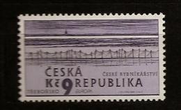 République Tchèque 2001 N° 271 ** Europa, Europe, Eau, Ecologie, Richesse Naturelle, Etang De Rozemberk, Bassin, Trebon - Tchéquie