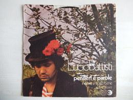 45 Giri - Lucio Battisti PENSIERI E PAROLE - 45 G - Maxi-Single