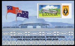 Samoa 1986 Stampex '86 Stamp Exhibition MS, MNH, SG 735 - Samoa