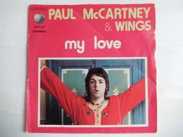 45 Giri - Paul McCarteny - MY LOVE - 45 G - Maxi-Single