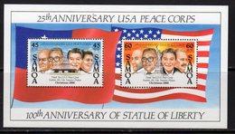 Samoa 1986 US Peace Corps MS, MNH, SG 743 - Samoa