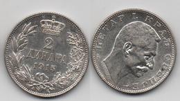 + SERBIE   + 2 NAPA 1915 + TRES BELLE + - Serbie