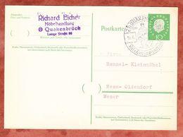 P 37 Heuss, SoSt Quakenbrueck, Nach Hess Oldendorf 1960 (48363) - BRD