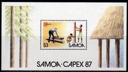 Samoa 1987 CAPEX Stamp Exhibition MS, MNH, SG 753 - Samoa
