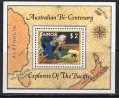 Samoa 1987 Australian Bicentenary MS, MNH, SG 762 - Samoa