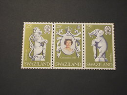 SWAZILAND - 1978 REGINA/TEMATICHE 3 VALORI - NUOVI(++) - Swaziland (1968-...)