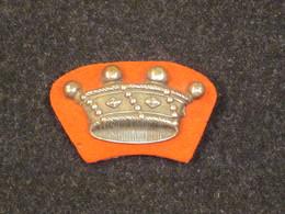Couronne De Comte, Insigne De Manche, Uniformes Vènerie, Poste Aux Chevaux, XIX° Siècle. - Cuff Links & Studs