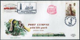 1977-79 GB 6 X Romney Hythe & Dymchurch Railway Lette Stamps Official Covers. Train R.H.D.R. - 1952-.... (Elizabeth II)