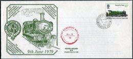 1979 GB West Somerset Railway, Flockton Flyer Train. Bishops Lydeard. - 1952-.... (Elizabeth II)