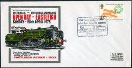 1975 GB Eastleigh British Rail, Southern Railway Train Cover - 1952-.... (Elizabeth II)