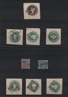INDIA FIELD POST OFFICE POSTAL STATIONERY POSTMARKS - Military Service Stamp