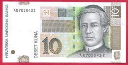Croatie, 10 Kuna, 2001, SUP - Croatie