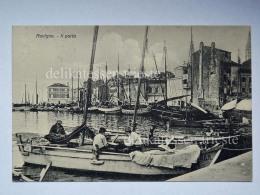 ROVIGNO Croazia Hrvatska Porto Pescatori Vecchia Cartolina - Croacia