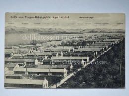 GERMANIA Truppen Uebungsplatz Lager Lechfeld Prigionieri Trieste I WW AK Vecchia Cartolina Old Postcard - Guerra 1914-18