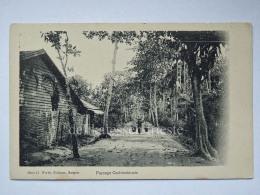 VIETNAM SAIGON HO CHI MINH COCHINCHINE Paysage French Colony AK Old Postcard - Vietnam