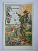MILITARI REGIO ESERCITO Telegrafo Foglio Di Congedo Vecchia Cartolina Illustrata - Guerra 1914-18