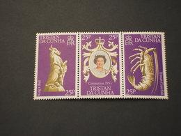 TRISTAN DA CUNHA  - 1978 REGINA/TEMATICHE 3 VALORI - NUOVI(++) - Tristan Da Cunha