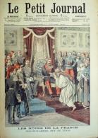 LE PETIT JOURNAL-1904-713-SIDI MOHAMED BEY TUNIS-JAY GOULMD MILLIARDAIRE /ECHECS - Le Petit Journal
