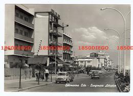 SOTTOMARINA LIDO - LUNGOMARE ADRIATICO F/GRANDE  VIAGGIATA 1963 ANIMATA - Venezia
