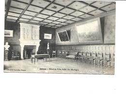 17-JONZAC-Une Vue De La Salle Des Mariages De L'Hôtel De Ville - Jonzac