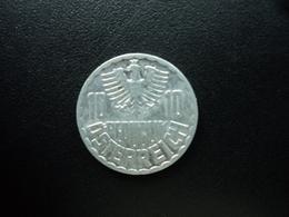 AUTRICHE : 10 GROSCHEN  1969  KM 2878   SUP - Autriche