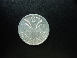 AUTRICHE : 10 GROSCHEN  1971  KM 2878   SUP+ - Autriche
