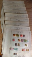 Italy - FIUME / Pre Stamped Pages / Falz - Mint, Used Stamps / NO RESERVE - Fiume