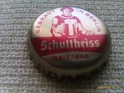 Chapa Kronkorken Caps Tappi Cerveza Schultheiss. Alemania - Bière