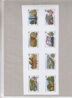 Rwanda - épreuve D'imprimerie De La Série 682 / 89 De 1975 - Protection De La Nature - Paysage Et Fleurs - Rwanda