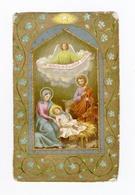 Crèche, Noël, Nativité, Sainte Famille, Ange, éd. CB - Images Religieuses