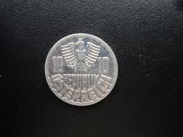 AUTRICHE : 10 GROSCHEN  1987  KM 2878   SUP - Autriche