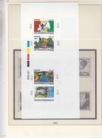 Rwanda - épreuve De Couleur Série 1360/63 De 1990 - 30anniversaire Révolution Rwandaise - Drapeaux - Rwanda