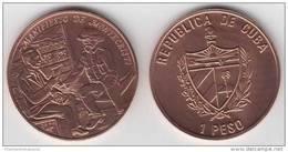 1994-MN-107 CUBA 1$ 1994 MAXIMO GOMEZ DOMINICAN REP SANTO DOMINGO & SIMON BOLIVAR. - Cuba