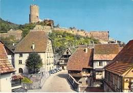68 KAYSERSBERG - Le Pont Fortifié Et Le Chateau. - Kaysersberg