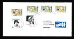 Zimbabwe Cover With 2008 Rats & Heroes / Chisipite Postmark (Simbabwe) / Inflation Period - Zimbabwe (1980-...)