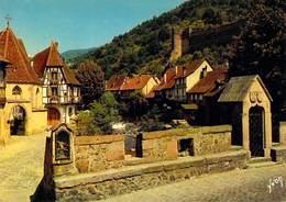 68 KAYSERSBERG - Pont Fortifié,Maisons Anciennes Au Bord De La WEISS - Kaysersberg