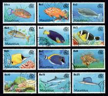 MAURITIUS 2000 - Complete Set Used - Mauritius (1968-...)