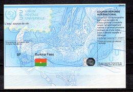 9531 IRC IAS CRI - International Reply Coupon - Antwortschein T37, Burkina Faso, BF 20130514 AA - Burkina Faso (1984-...)