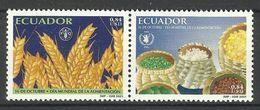 ECUADOR  2001  WORLD FOOD DAY  MNH - Ecuador