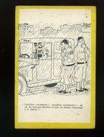 CPA-militaria Humour-illustrateur Jacques Faisant-Levallois Seulement....-taxi-soldats-militaires-pulcinella - Humoristiques