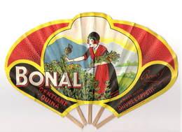 Eventail Publicitaire Bonal Alcool Gentiane - Non Classés
